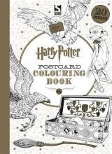warner brothers  warner brothers Harry Potter Postcard Colouring Book