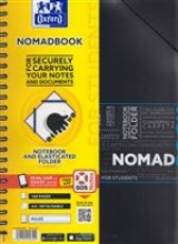 Nomadboek oxford a4+ 4gaats lijn 80v 90gr ass
