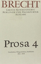 Brecht, Bertolt Prosa 4