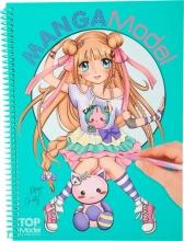 008516 a , Topmodel mangamodel kleurboek