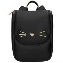 Topmodel rugzak kat zwart cat