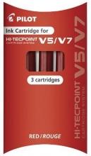 , Inktpatroon PILOT begreen Hi-Tecpoint 2237+2238 rood