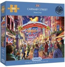 Gib-g3124 , Puzzel -carnaby street- gibsons 500 stuks 48x 34 cm