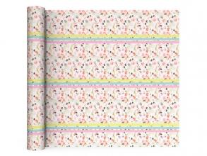, Kaftpapier 70x100 2 vel flower sport