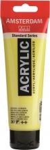 , Talens amsterdam acrylverf tube 120 ml. azogeel citroen 267