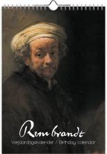 , Verjaardagskalender rembrandt