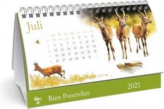 , Desk kalender 2021 rien poortvliet 21x14