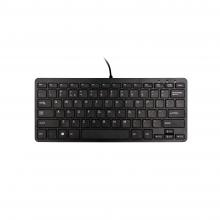 , Ergonomisch toetsenbord R-Go Tools Compact Qwerty zwart