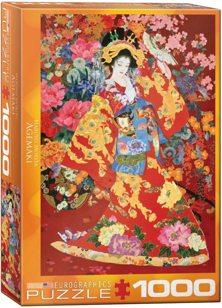 Eur-6000-0564,Puzzel  eurographics  - agemaki- haruyo morita  1000 stukjes  48x68 cm