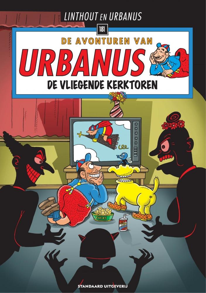 Willy Linthout, Urbanus,De vliegende kerktoren