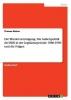 Bäcker, Thomas, Die Wiedervereinigung. Die Au?enpolitik der BRD in der Legislaturperiode 1986-1990 und die Folgen