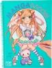 <b>008516 a</b>,Topmodel mangamodel kleurboek