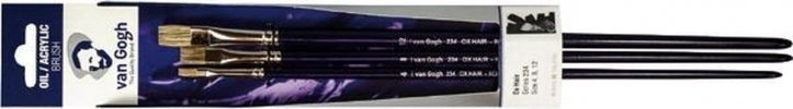 ,<b>Talens penselen set van gogh serie 234 (4-8-12)</b>