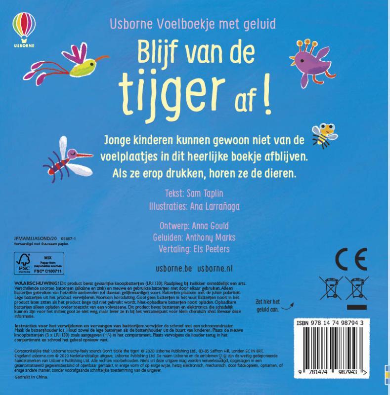 ,Blijf van de tijger af!
