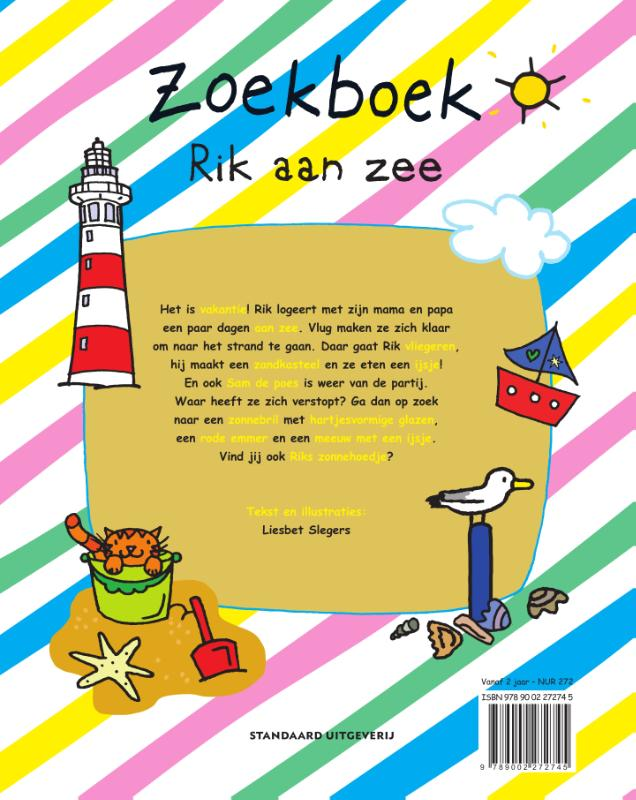 Liesbet Slegers,Zoekboek Rik aan zee
