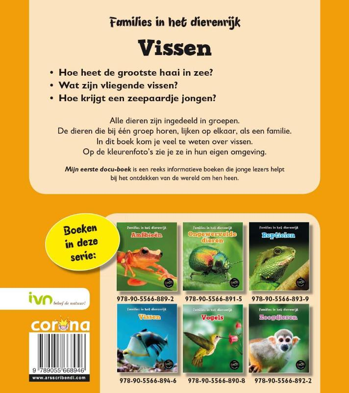 Angela Royston,Vissen