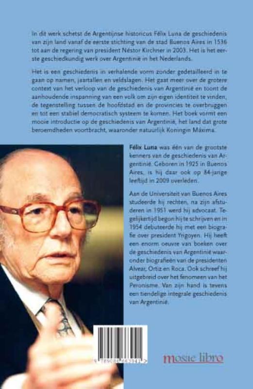 Félix Luna,Beknopte geschiedenis van Argentinië