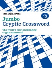 Browne, Richard Times Jumbo Cryptic Crossword Book 13