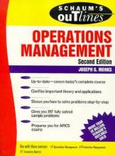 Monks, Joseph Schaum`s Outline of Operations Management