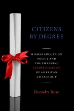 Rose, Deondra Citizens by Degree