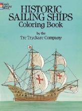 Dover Historic Sailing Ships Colouring Book
