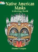 Dianne Gaspas Native American Masks Coloring Book