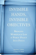 Befort, Stephen F. Invisible Hands, Invisible Objectives