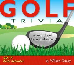 Casey, Wilson Golf Trivia 2017 Calendar