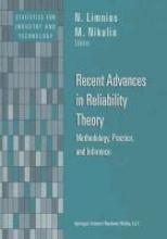 N. Limnios,   M. Nikulin Recent Advances in Reliability Theory