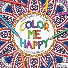Color Me Happy 2017 Calendar