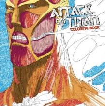Isayama, Hajime Attack on Titan Coloring Book