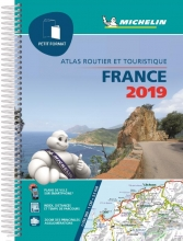 , ATLAS MICHELIN FRANCE (PETIT FORMAT) 2019