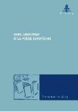 Anna Akhmatova et la poésie européenne