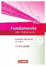 Fundamente der Mathematik 9. Schuljahr. Arbeitsheft Gymnasium Nordrhein-Westfalen
