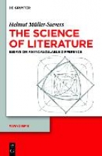 Müller-Sievers, Helmut The Science of Literature