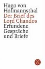 Hofmannsthal, Hugo von Der Brief des Lord Chandos