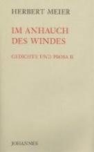Meier, Herbert Im Anhauch des Windes