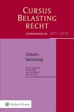 K.M.  Braun, D.  Euser, O.L.  Mobach, C.A.  Peeters, T.K.M.  Rookmaaker-Penners Studenteneditie Cursus Belastingrecht Omzetbelasting 2017-2018