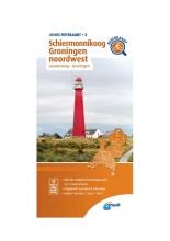 ANWB , Fietskaart Schiermonnikoog, Groningen noordwest 1:66.666