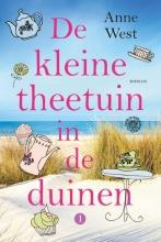 Anne West , De kleine theetuin in de duinen