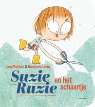 Jaap  Robben, Benjamin  Leroy Suzie Ruzie : Suzie Ruzie en het schaartje