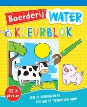 , Waterkleurblok Boerderij