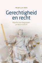 J.J.H. Post , Gerechtigheid en recht