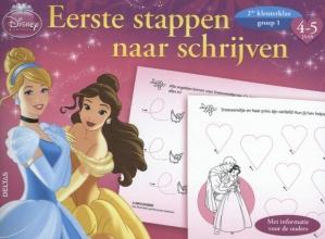 Disney eerste stappen naar schrijven prinsessen 4-5 jaar, groep 1