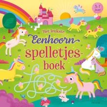 ZNU , Het leukste eenhoorn spelletjesboek (5-7 j.)