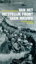 Erich Maria  Remarque Van het westelijk front geen nieuws, luisterboek, 6 CD`s