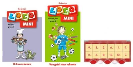 , Loco Mini ik kan rekenen 6+ (doos + 2 boekjes)