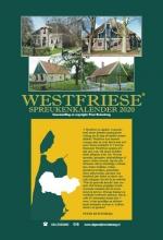 , Westfriese spreukenkalender 2020