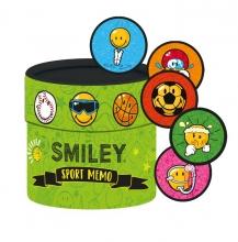 , Smiley Sport Memo