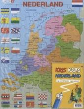 Kris kras / Topopuzzel NL + topoboekje NL